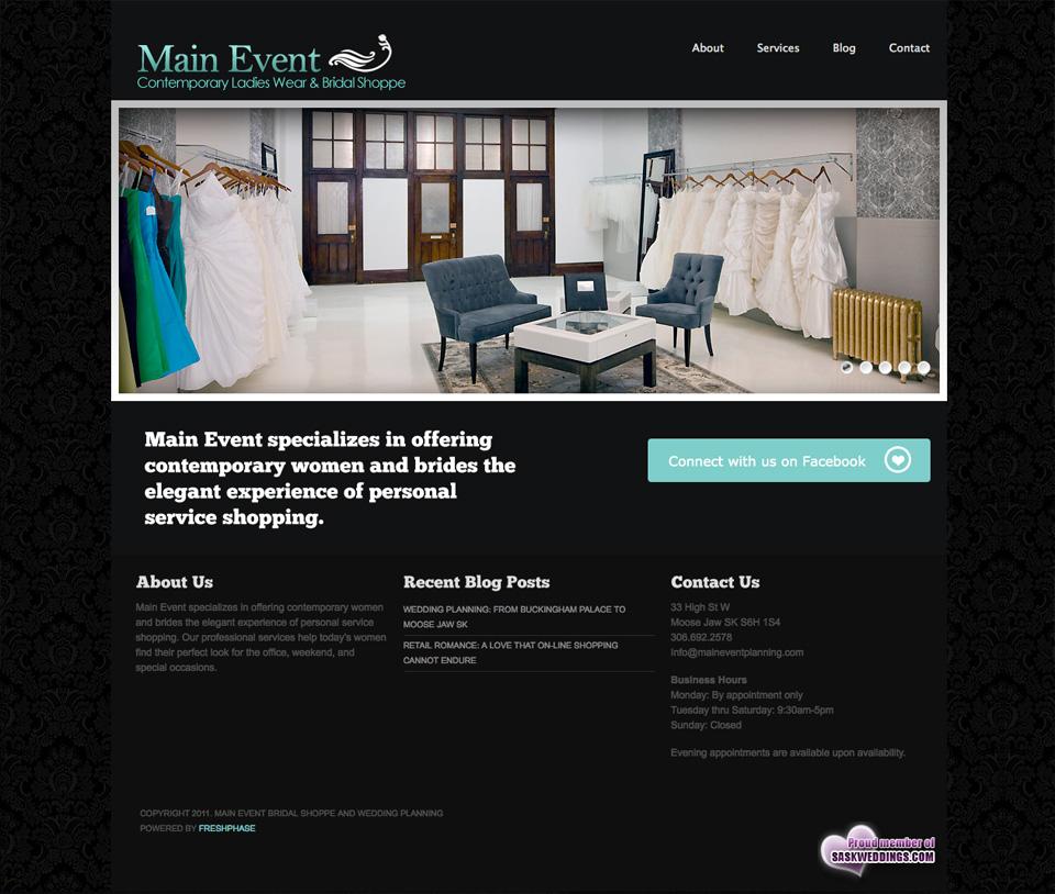 Main event planning