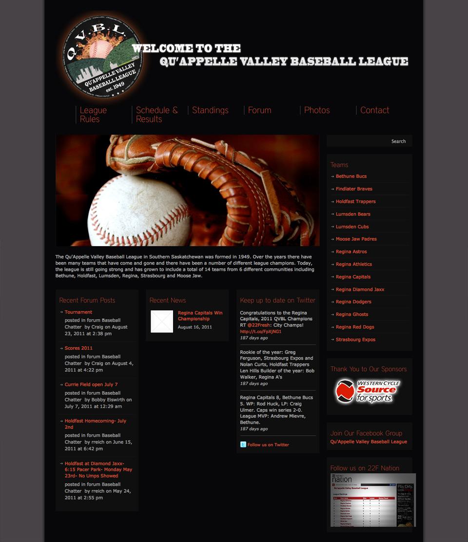 Qu'Appelle Valley Baseball League