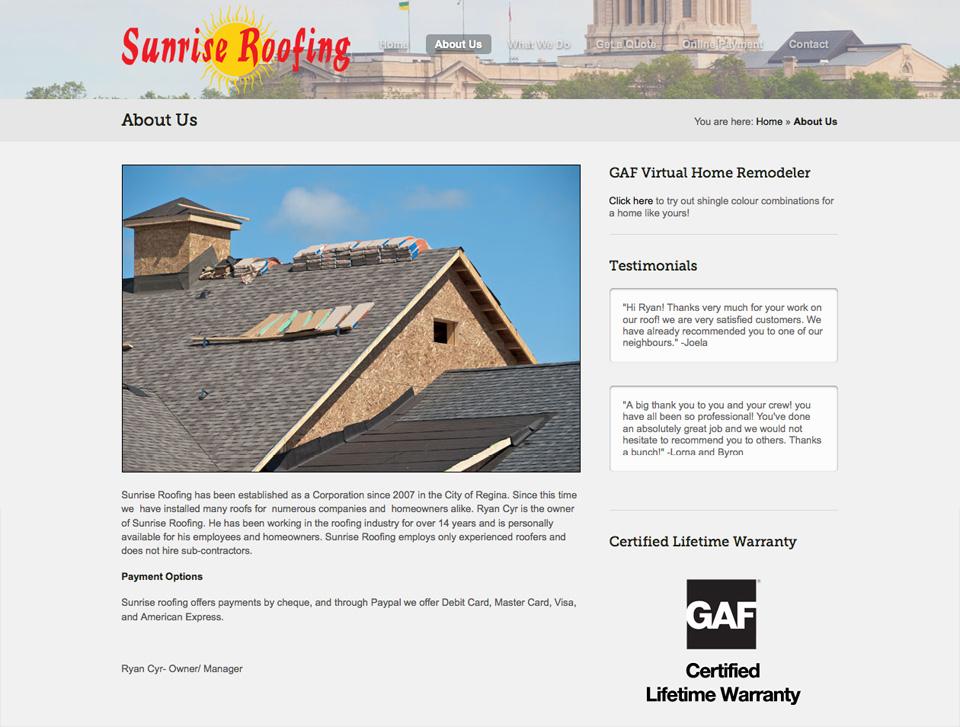 Sunrise Roofing